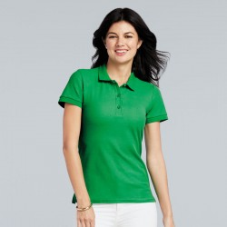 Gildan Women's Premium Cotton Double Piqué Polo Shirt